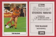 Motherwell Tom McAdam 395